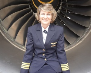 Jane Trembath (South Africa). First woman pilot & Captain in South Africa to command long-range international flights.  (Photo credit: fly88.co.za)