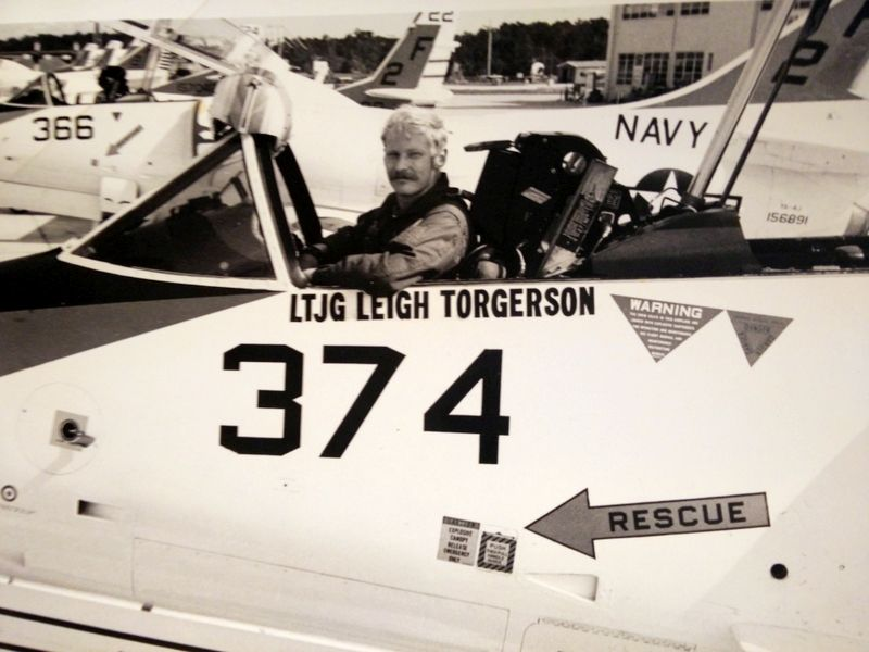 Leigh Torgerson in 1972