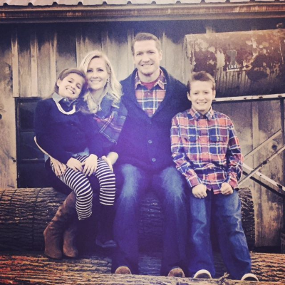 More than just a pilot, Miranda Gahn is a devoted wife and mom!    (Photo credit: Miranda Gahn)