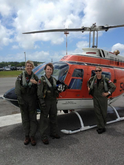 LCDR Kissell and colleagues (Photo credit: Trier Kissell)