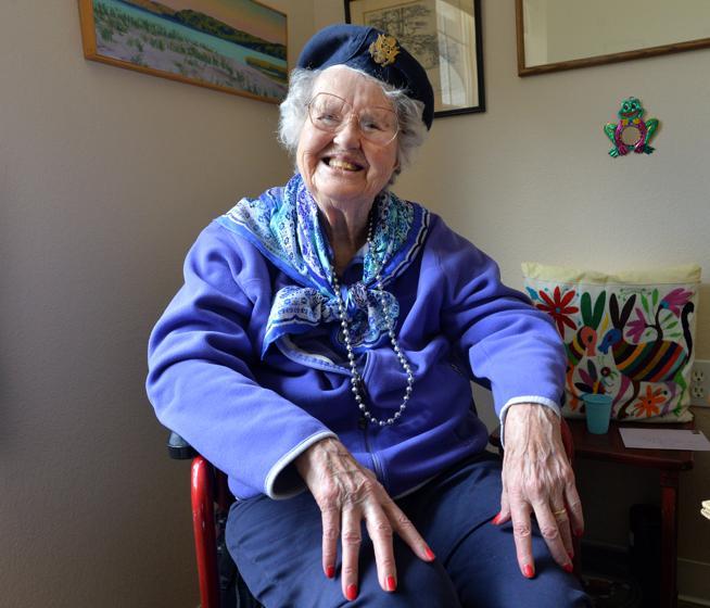 Betty Lotowycz. (Photo credit: Daily Camera / File photo)
