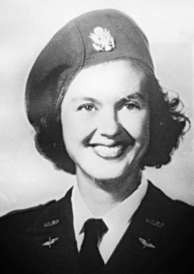 (Betty Lotowycz, 1944. Photo credit: Legacy.com)