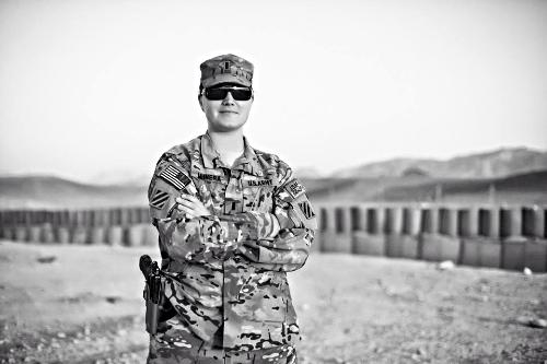 U.S. Army Captain Kathryn Munera (Photo credit: Kathryn Munera)