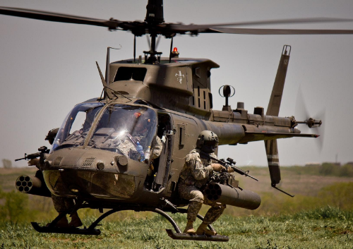 The OH-58D Kiowa Warrior (Photo credit: U.S. Army)