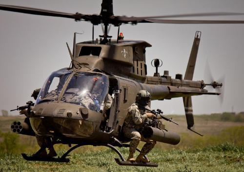 The OH-58D Kiowa Warrior (Photo credit: U.S. Army)