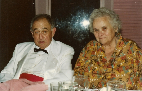 Elin and her husband Adolph (Ed) Raimondi (Photo: Elin M. Raimondi)