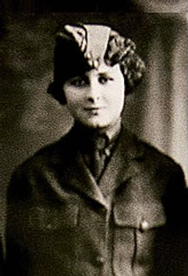 "Opha Mae Johnson, America's ""first"" female Marine. (Photo: Mother Jones)"