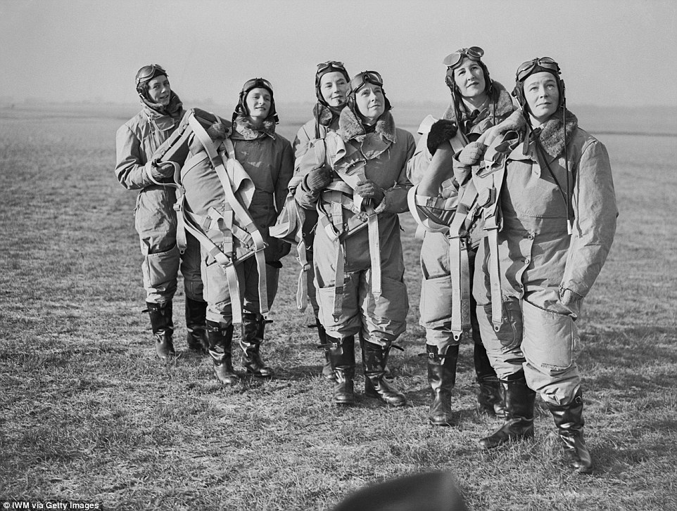 ATA initially employed eight women pilots, some of whom are seen here at Hatfield in January 1940 (Photo: IWM/Getty)