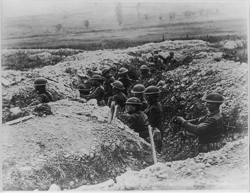 US Troops in Verdun, 1918. (Photo: Library of Congress)