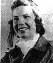 """Elizabeth """"Jayne"""" Erickson Apr 24, 1921-Apr 16, 1944"""