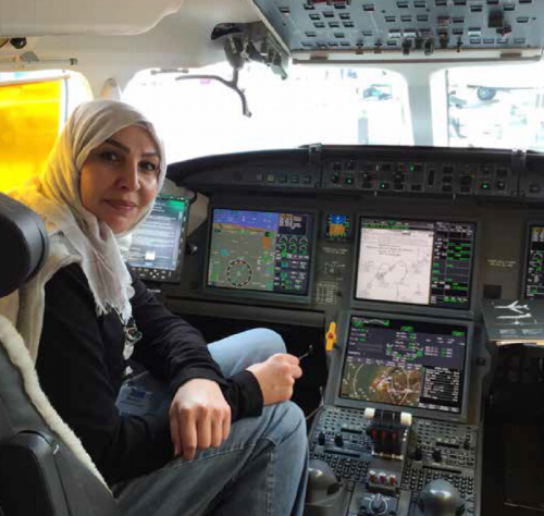 Mervat Sultan, President of the WAI Middle East Chapter. (Photo: Altitudes Arabia Magazine)