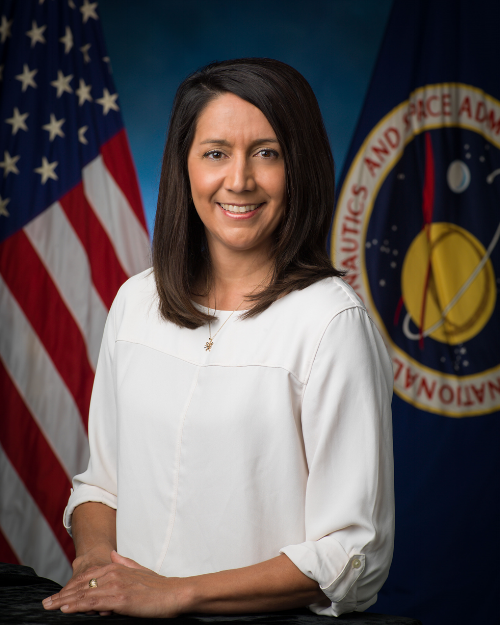 Ginger Kerrick, NASA's first hispanic female Flight Director (Photo: NASA)