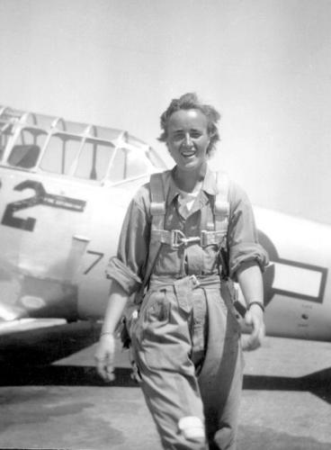 Shutsy in 1944. (Photo: Shutsy Reynolds)