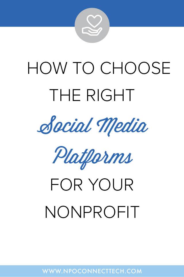 Choose-Social-Media-Platforms-Nonprofit