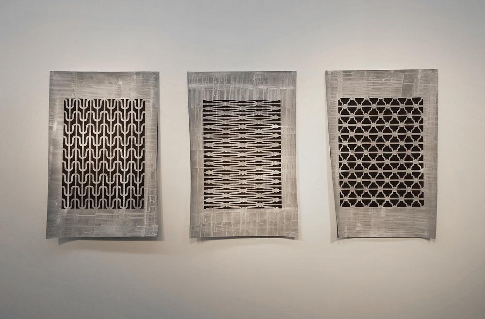Tyvek Triptych