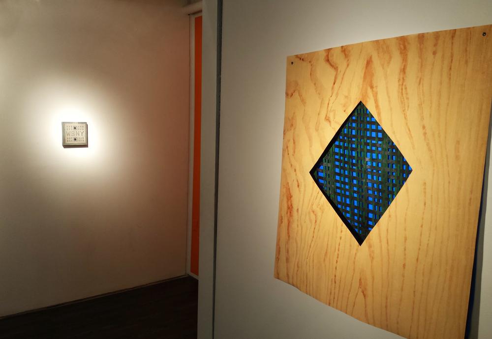 Woodgrain, installation view
