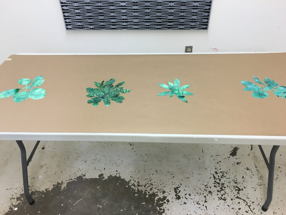 works on paper - my new series on weeds