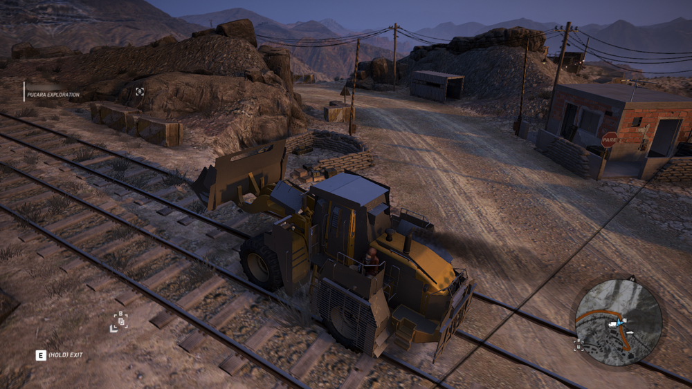 Why, yes, that IS an armored Loader. Taken moments before it was leveled by a train that we did not hear coming.