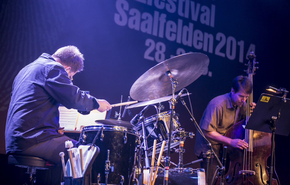 Saalfelden Jazz Festival 2014 with Charles Rumback on drums
