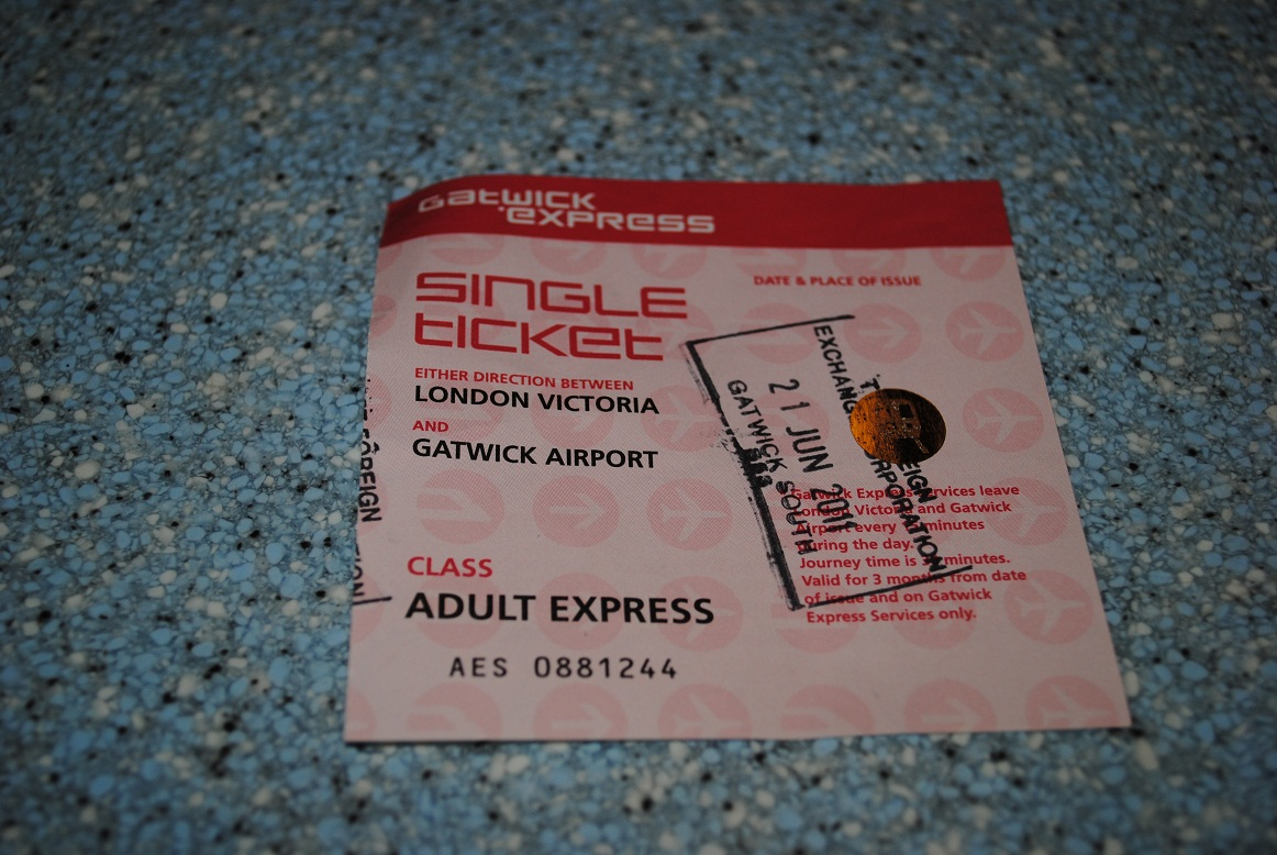 Gatwick Express Ticket