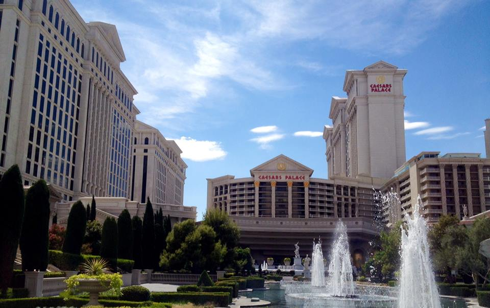 Caesars is so big, you can't fit all the wings in one picture.