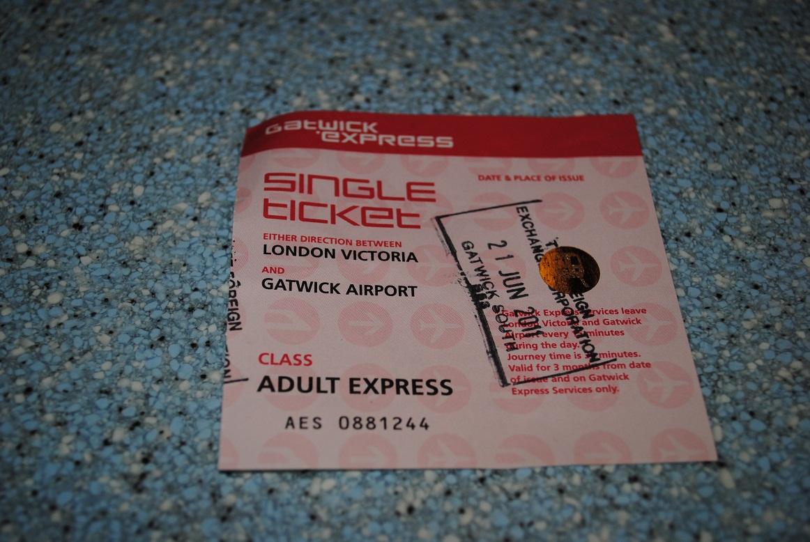Gatwick Express Ticket