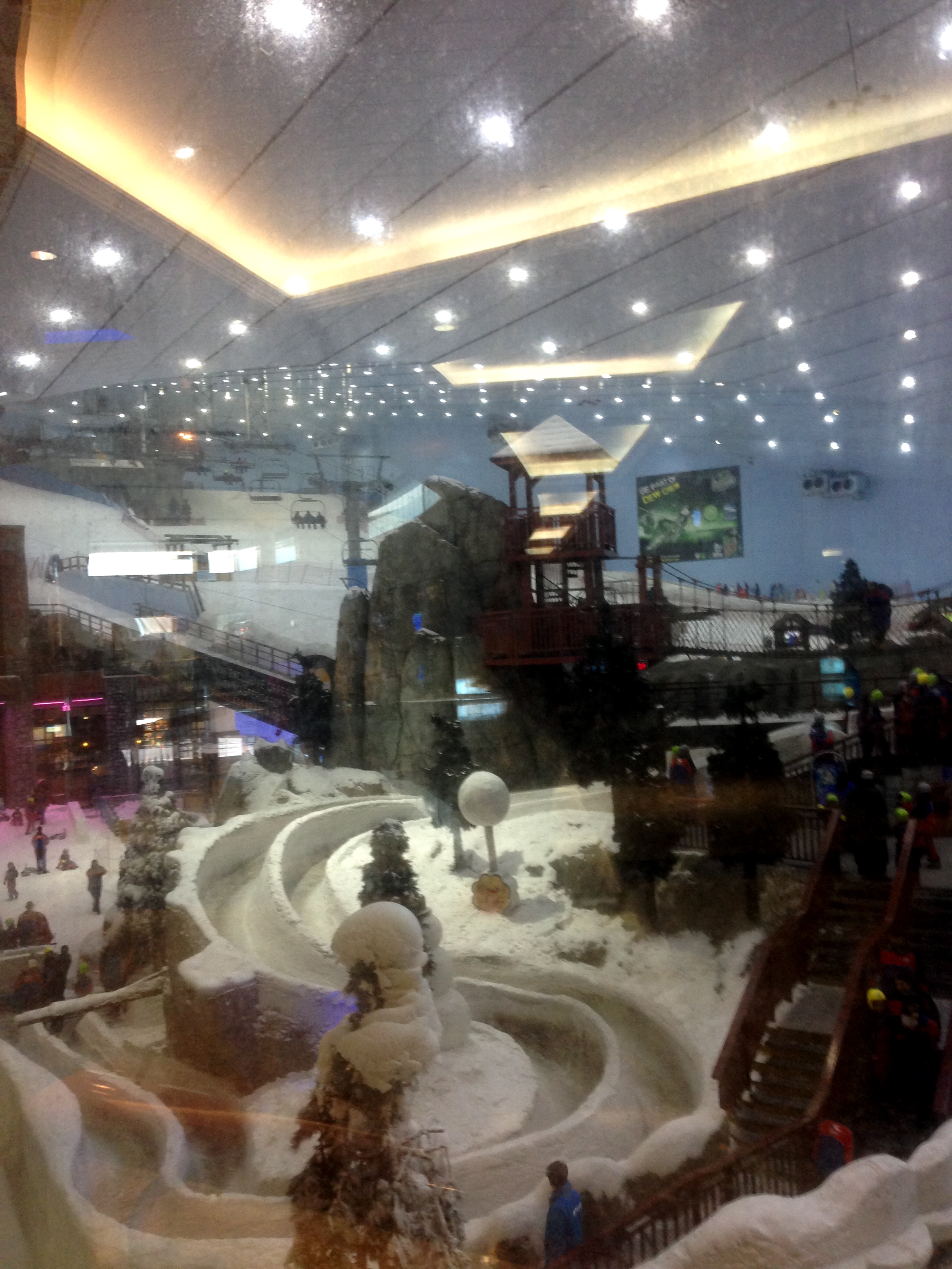 The famous Ski Dubai...hip surgery prevented me from trying it out. Someday...