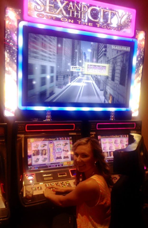 Slot machines: meet Katy.