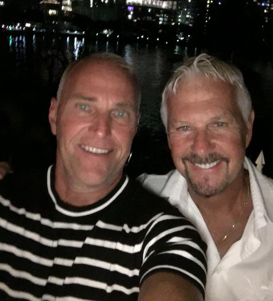 Steve Byckiewicz and Bob Macleod