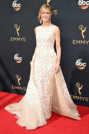 Felicity Huffman in Tony Ward from Panache Bridal