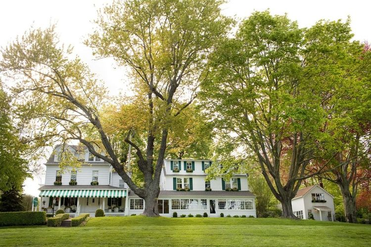 THE GATHERING SPOT : With just 19 themed guest accommodations, weddings at the funkily named c/o   The Maidstone   feels like artsy house parties. Keep the guest list to a few dozen (they specialize in intimate gatherings) and marry in the magazine-worthy garden.  (PHOTO: Courtesy of The Maidstone)