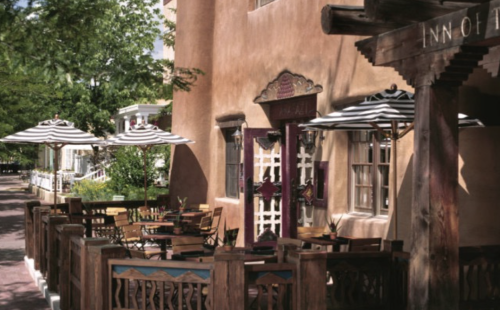 WHILE ONE OF THE PRICIEST SPOTS IN TOWN, SANTA FE'S INN OF THE ANASAZI IS SURROUNDED BY SCORES OF FAMILY-FRIENDLY STAYING SPOTS; ROSEWOODHOTELS.COM