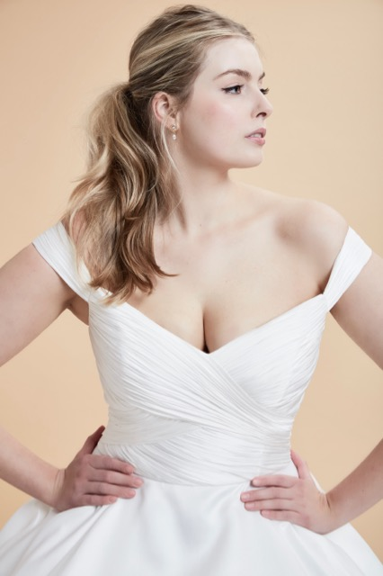 Berkeley curve couture dress