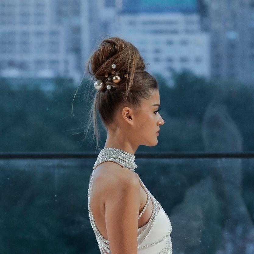 Ines Di Santo, Bridal 2018, New York City, October 2017