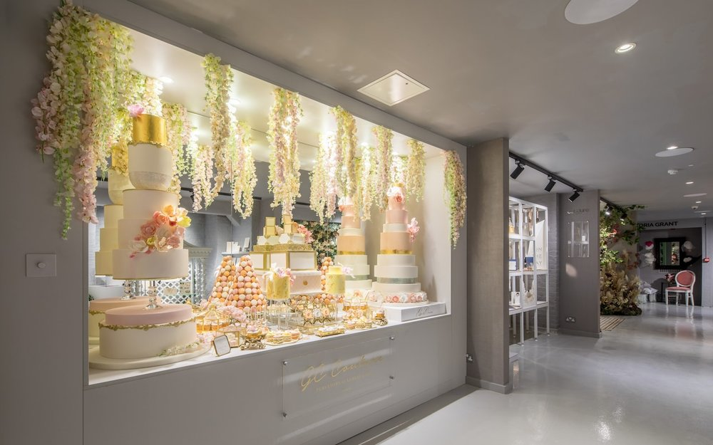 One of several cake shops within The Wedding Gallery
