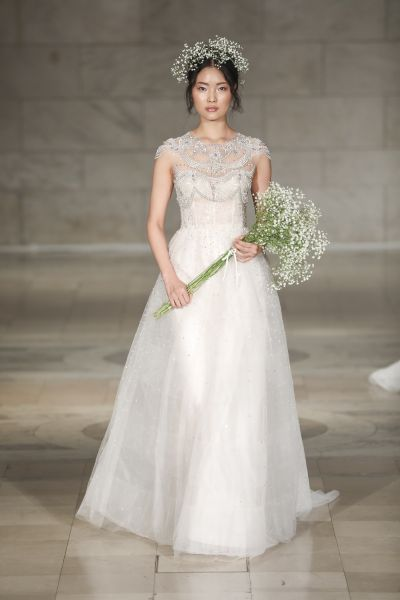 Reem Acra, price upon request.
