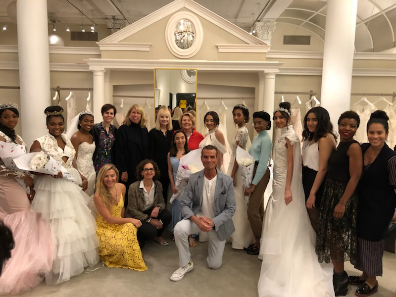Bridal Gowns Designed By High School Students For 11th Annual Kleinfeld Bridal Competition The Bridal Council