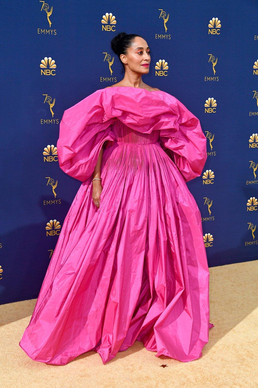 TRACEE ELLIS ROSS in Valentino Haute Couture