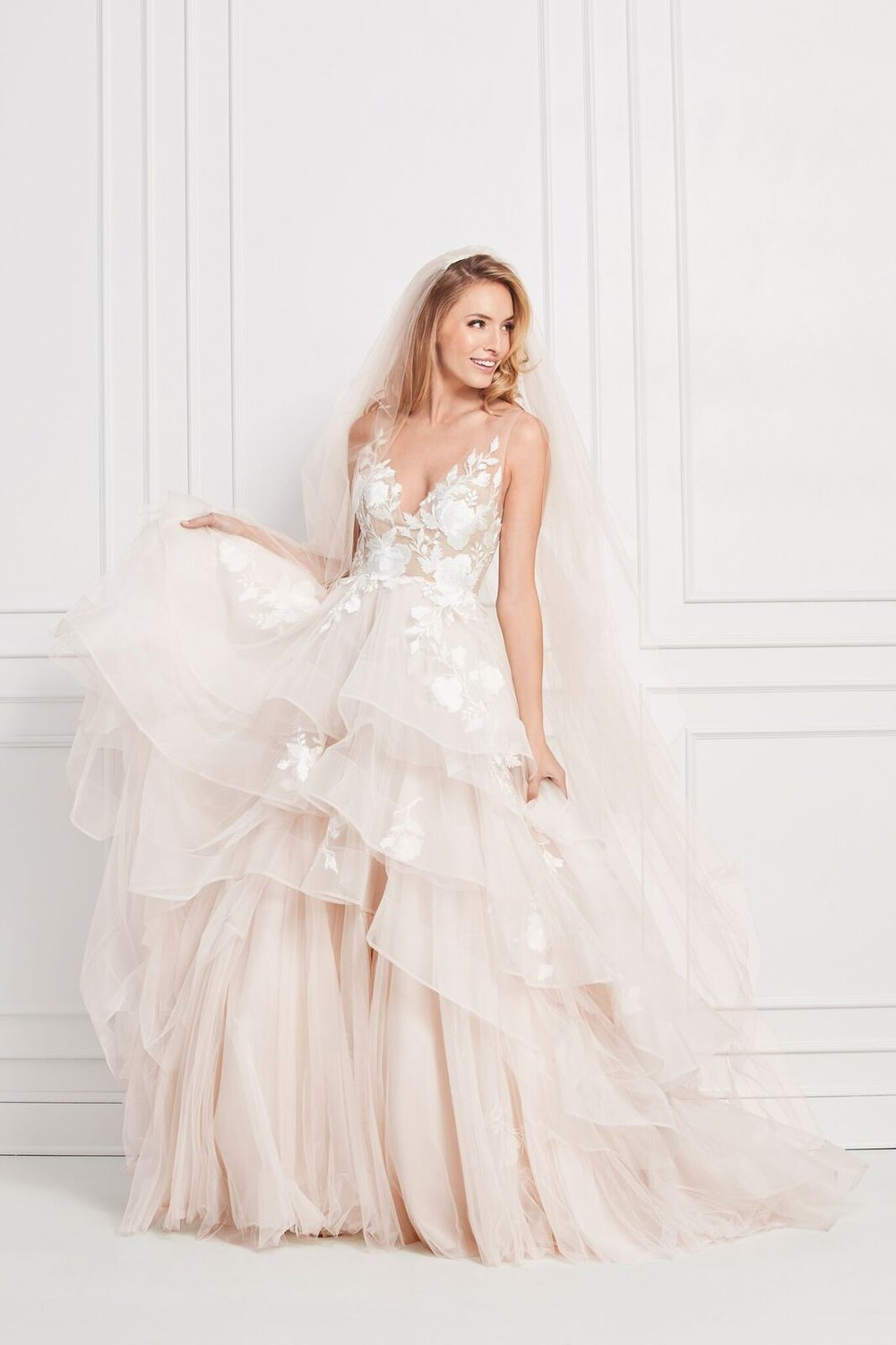 a2a48d934e81 It's important to have a channel for both types of brides to find a gown at  their convenience.
