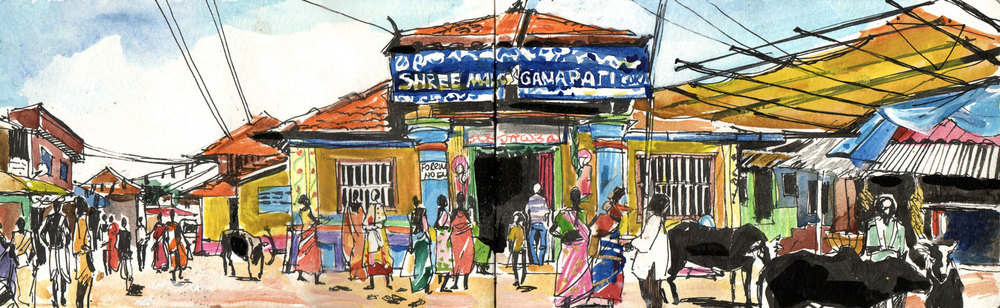 Gokarna holy city. Karnataka