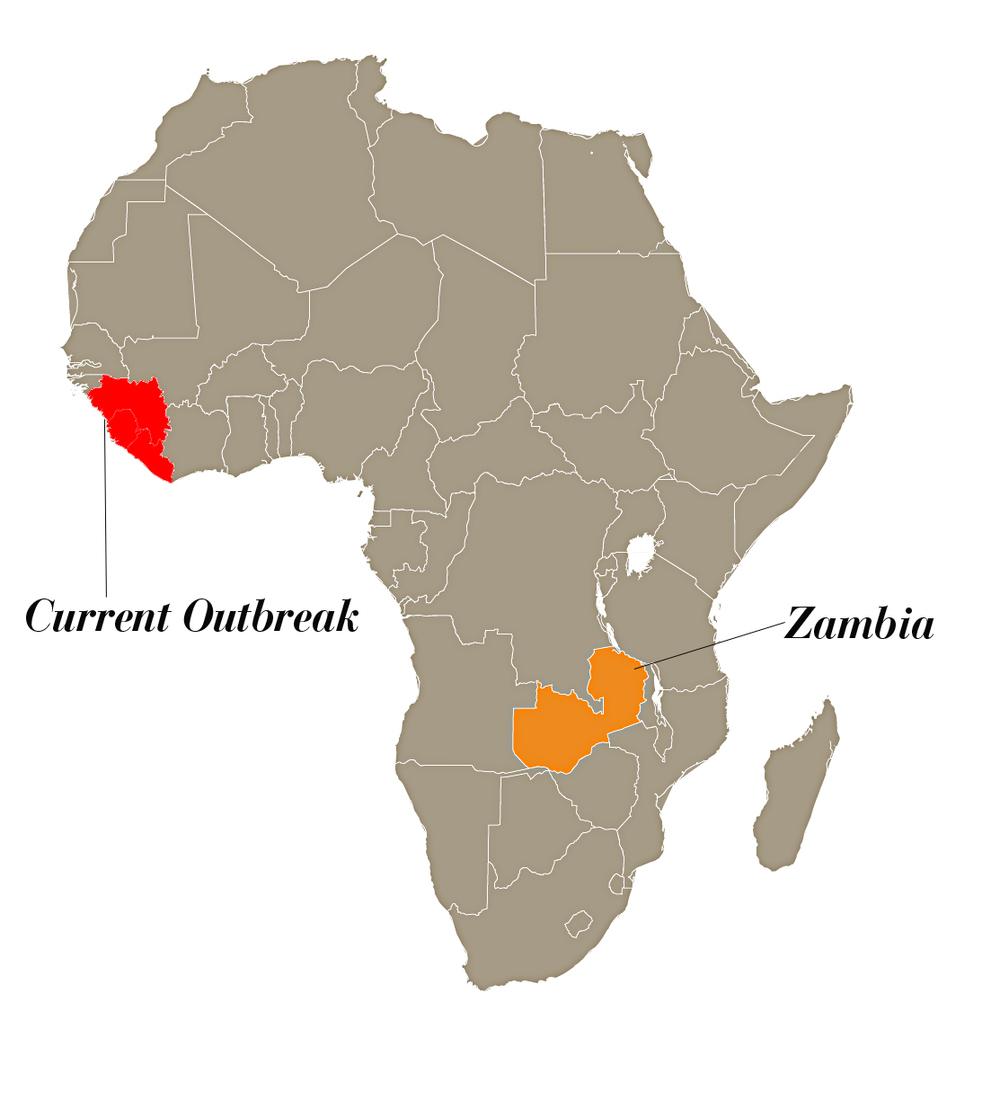 Ebola Outbreak Arise Africa - Ebola us map