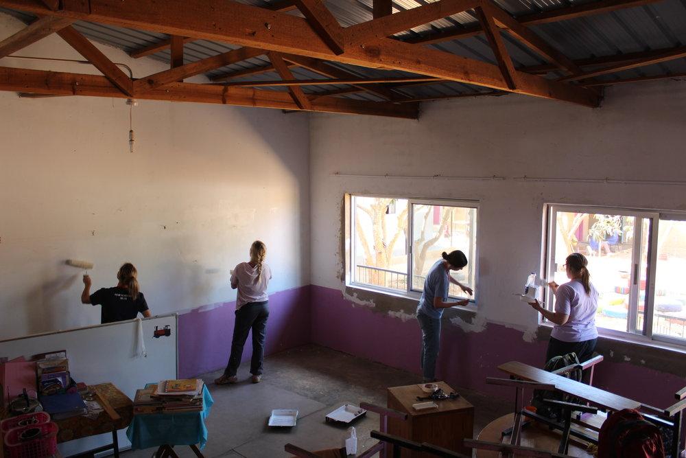 Team pink room!
