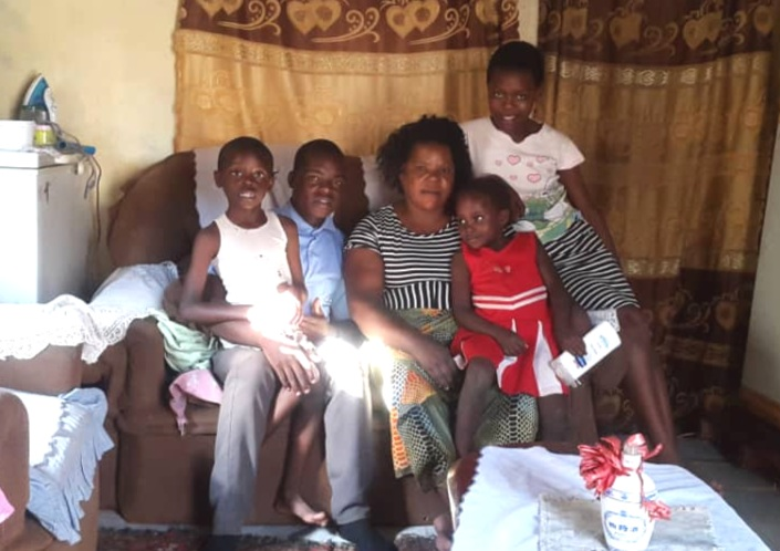 Tenson spends time with his uncle's sister, Mrs. Nyirenda, and cousins Noah, Mitchell, and Witness, while his uncle is at work.