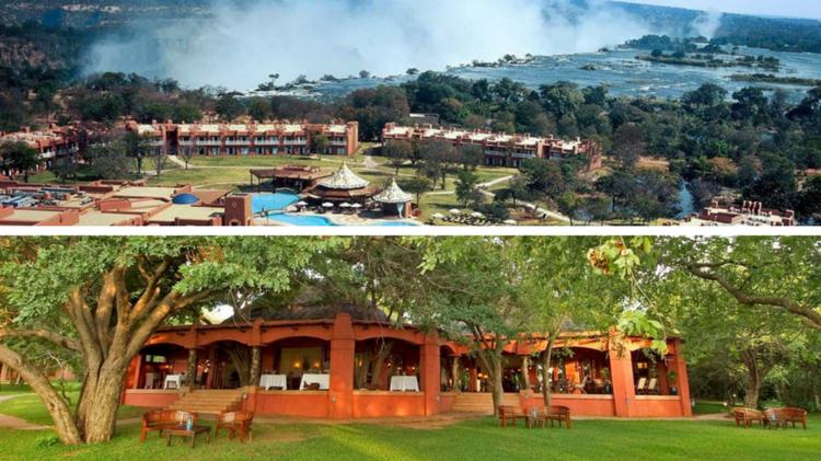 OPTION 4: Victoria Falls + Safari - 4 nights, Avani Hotel & Chobe Chilwero Lodge