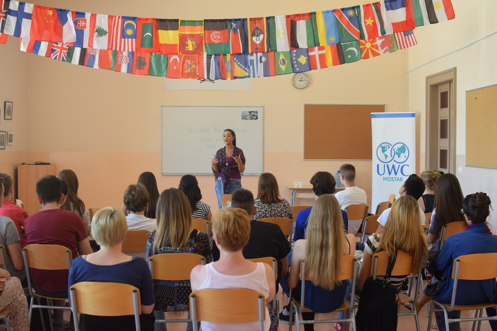 Talk by Marija, local entrepreneur, about her tourism business
