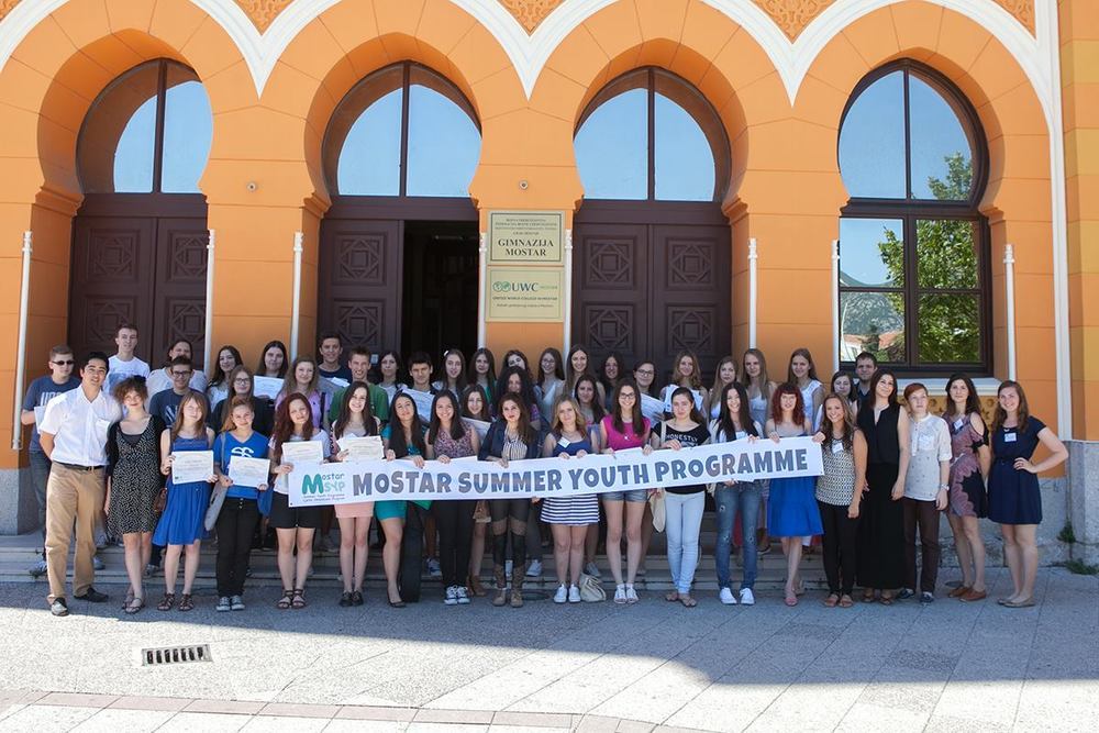 Group photo of teachers and participants, MSYP 2014