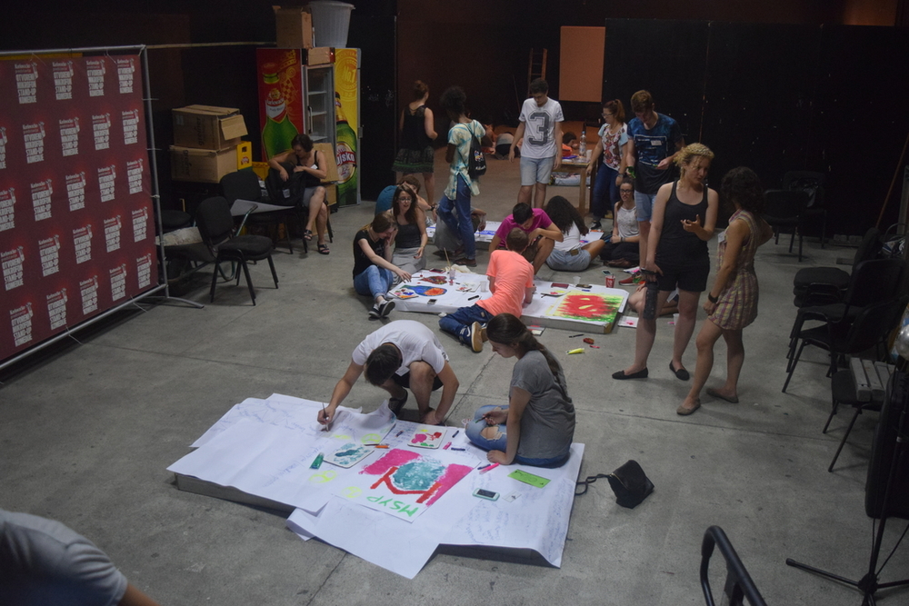 Art Workshop at OKC Abrasevic