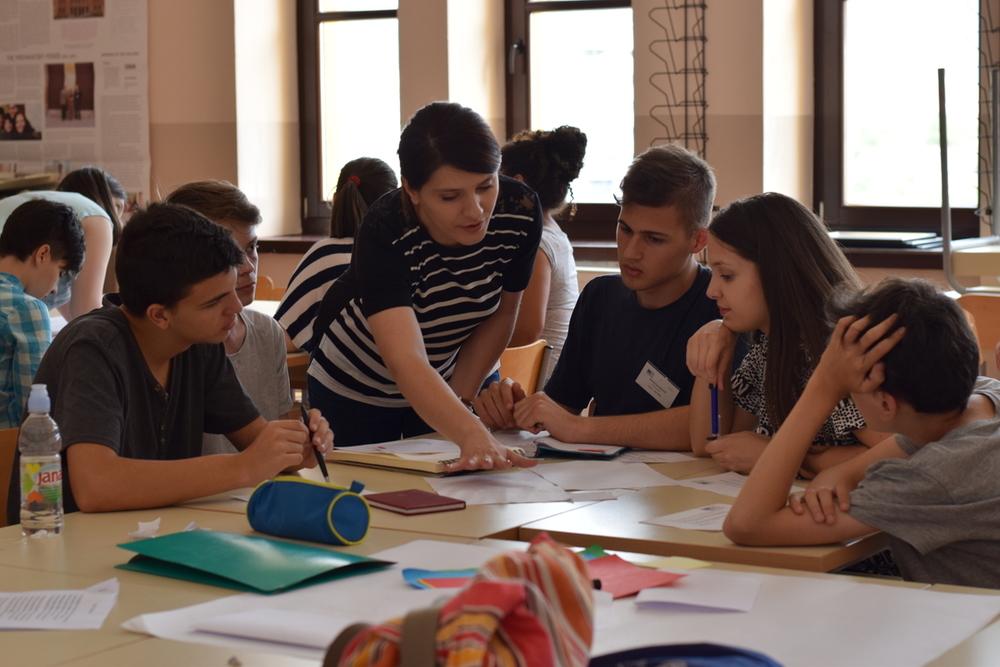 Project Writing workshop with NGO Schuler Helfen Leben