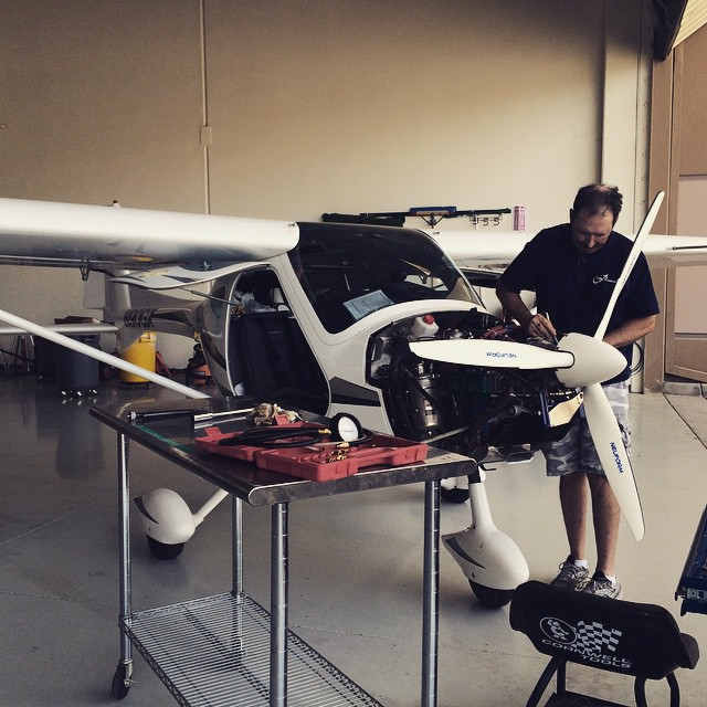 @apexaviation  #LasVegas #AircraftMaintenance #LightSport #Remos #Rotax #FixedWing #Piston #WeFixAircraft #HardAtWork #KHND #KLAS #KVGT