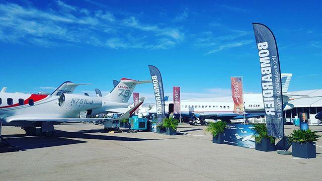 #NBAA is here! #staticdisplay  @Apexaviation #AircraftMaintenance